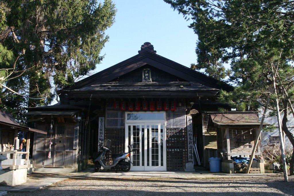 不動寺本堂